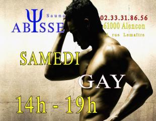 Sauna Club Abysse : Horaires du Club Abysse - samedi gay