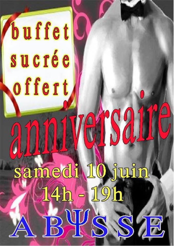 Sauna Club Abysse Alençon - Journée gay : Soirée anniversaire - 2017-06-10T14:00:00 - 2017-06-10T19:00:00