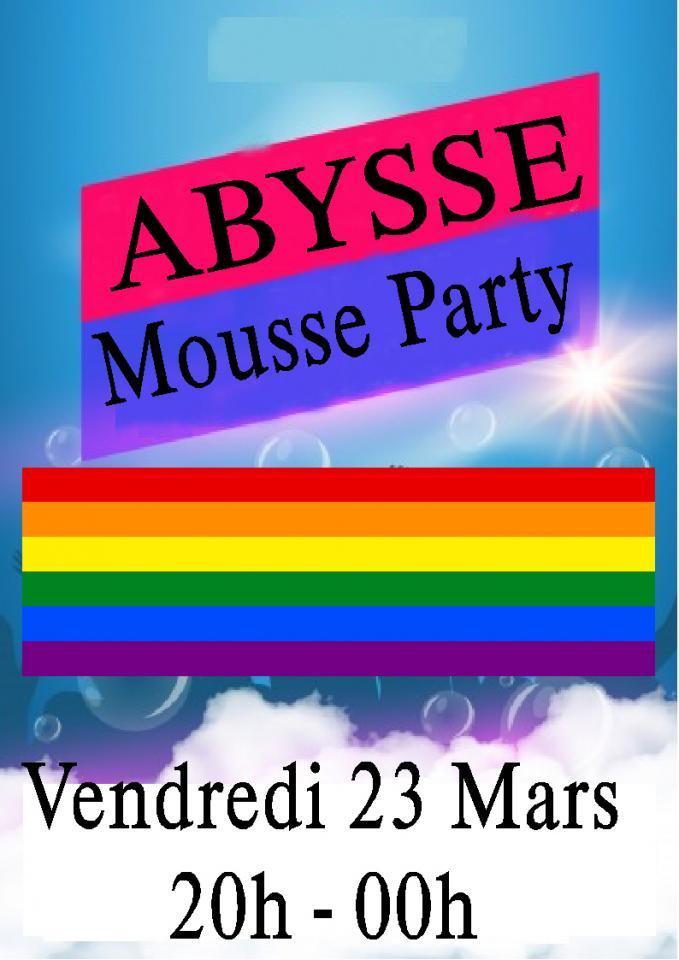 Sauna Club Abysse Alençon - Soirée gay :  Soirée Mousse - 2018-03-23T19:00:00 - 2018-03-23T23:55:00